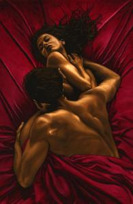 The Passion fine art nude oil painting